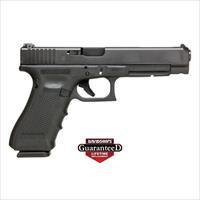 Glock 34 9Mm Luger Gen-4 As 17-Shot Black G-Gun G34417AUT