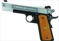 Import Sports Metro 1911 Classic Ii Semi Auto Pistol 45 Acp, 5 In, Hardwood Grp, 8+1 Rnd, Blued Frame AC45G2DT