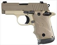 Sig Sauer P238 Desert Tan Night Sights .380ACP New