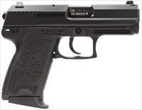 "Heckler & Koch 704531Lea5 Usp45c Compact V1 With 3 Mags Single/Double 45 Automatic Colt Pistol (Acp) 3.78"" 8+1 Black Polymer Grip/Frame Grip Blued Steel 704531LEA5"