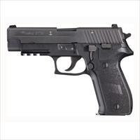 "Sig Sauer P226 Navy 9Mm Luger 4.4"" Night Sights 15-Shot Black MK25"