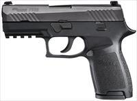 "Sig P320 3.9"" Compact 15 Rd  9mm 320C-9-BSS NEW"