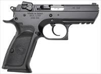 "Magnum Research Be94003rs Baby Desert Eagle Single/Double 40 Smith & Wesson (S&W) 3.8"" 10+1 Blk Carbon Steel BE94003RS"