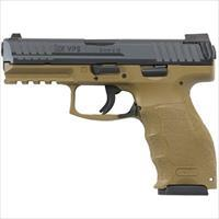 H&K Vp9 9Mm Fde W/3 15-Rd Mags And Night Sights 700009FDELEA5