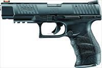 Walther Arms Ppq M2 Semi Auto Pistol 22 Lr, 5 In, Poly Grp, 10+1 Rnd, Fiber Optic, Full Sz Blk Frame 5100305