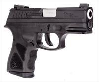 Taurus Th9c Semi Auto Pistol 9Mm Compact, Black 3.54