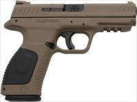 "ZENITH FIREARMS GIRSAN MC-28 SA SEMI-AUTO PISTOL, 9X19MM, 4.25"" BBL, FLAT DARK EARTH, POLYMER FRAME, THREE 15 RND MAGS GI28SA0009DE"