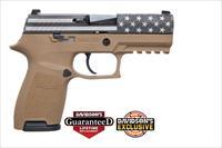 Sig Sauer P320 Flag 9Mm 15Rd Coyote 798681605255
