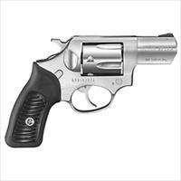 "Ruger Sp101 .357Mag 2.25"" Fs Stainless Steel Rubber * KSP321X"