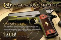 Colt Royal Gold Cup National Match TALO 1 of 250