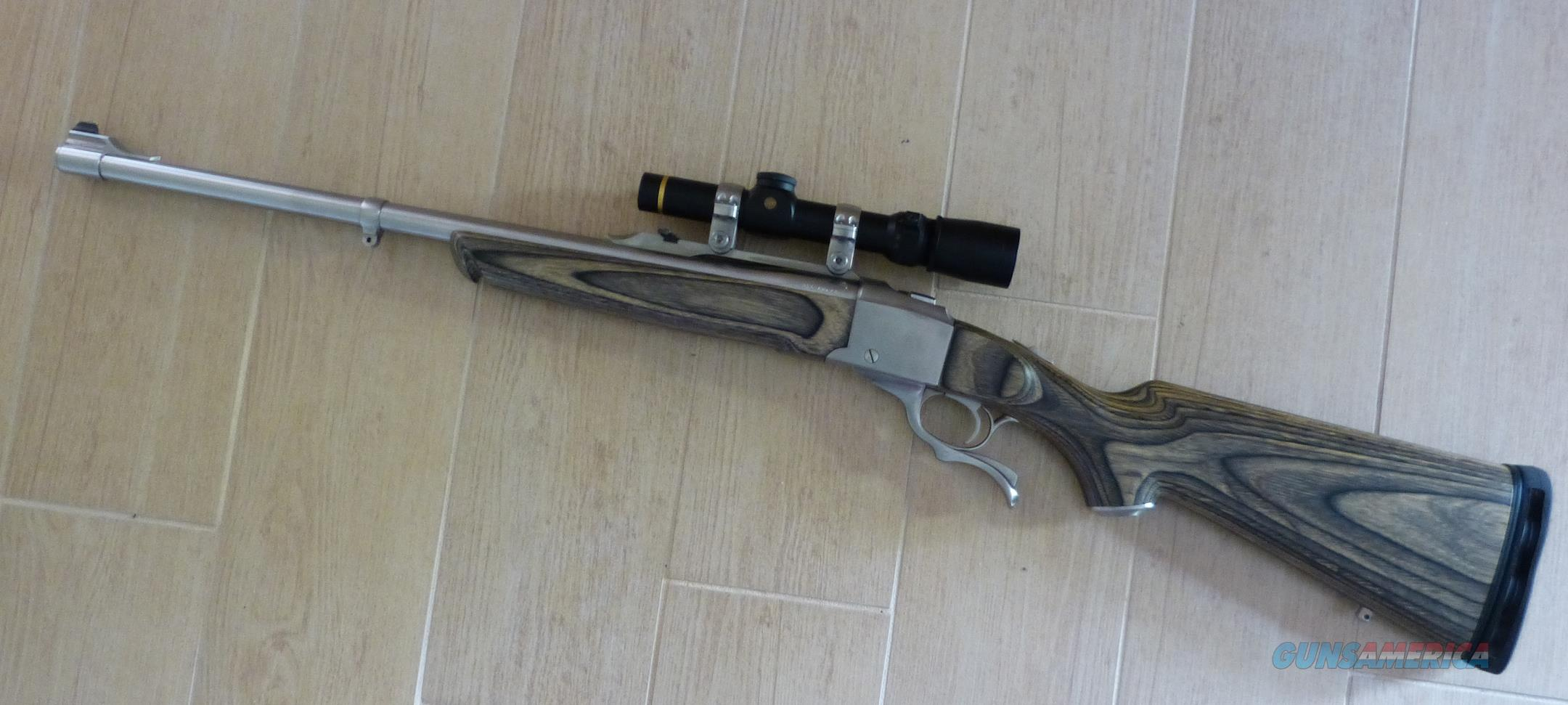WTS Ruger #1 K1-S-BBZ Stainless Sporter  375 Ruger