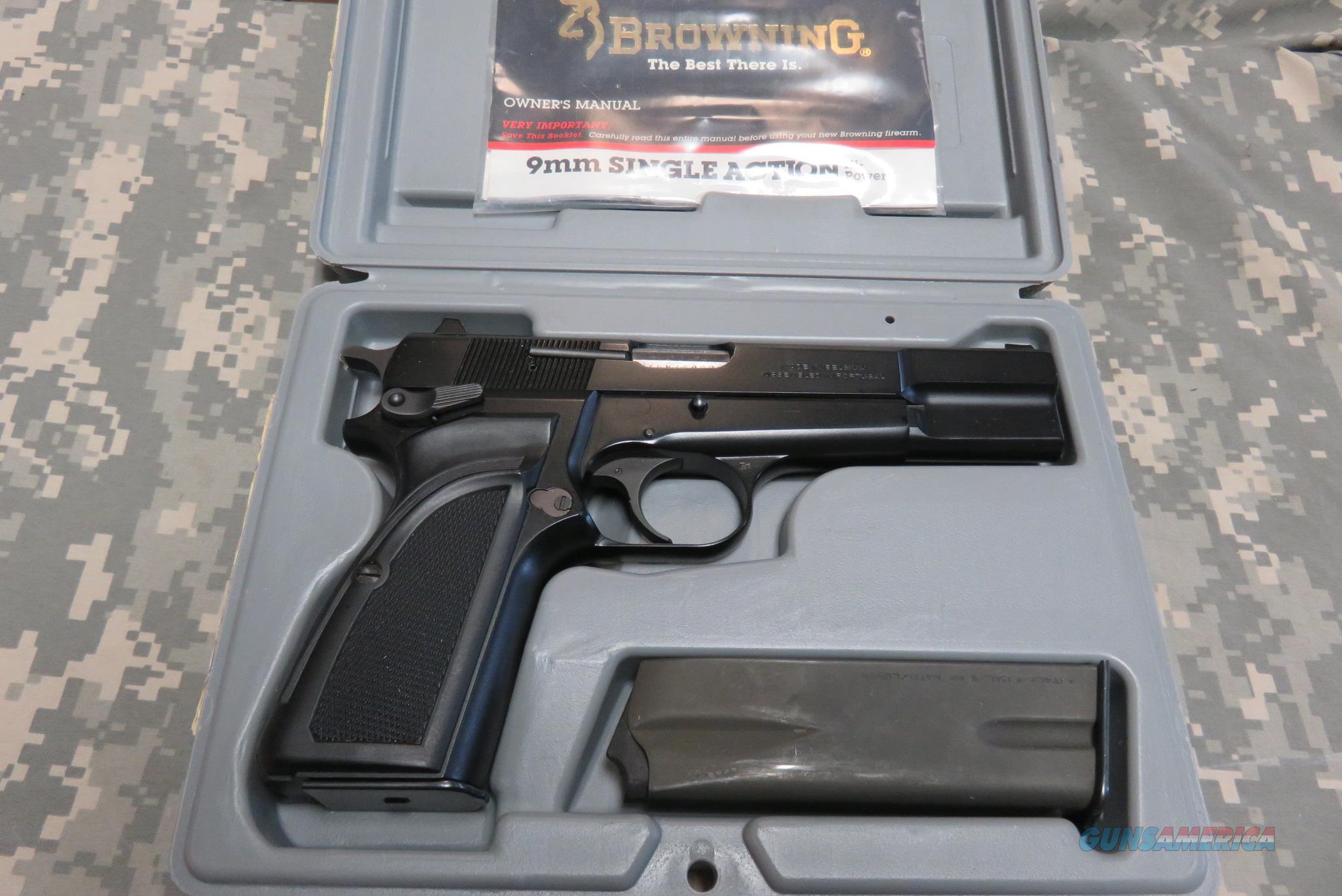 BROWNING HI POWER MARK III 9MM BLACK **LIKE NEW... for sale