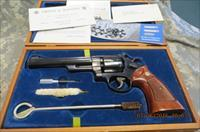 "SMITH & WESSON 25-2 MODEL 1955 45ACP, 6 1/2"" BLUE REVOLVER"