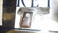 Colt 1908 Pocket Pistol Nickel .25 ACP