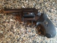 "Rossi 4"" .38 special 5 shot revolver with pachmayr grips"