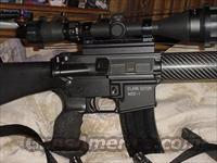 Custom AR-15 built buy Clark Gator sniper rifle