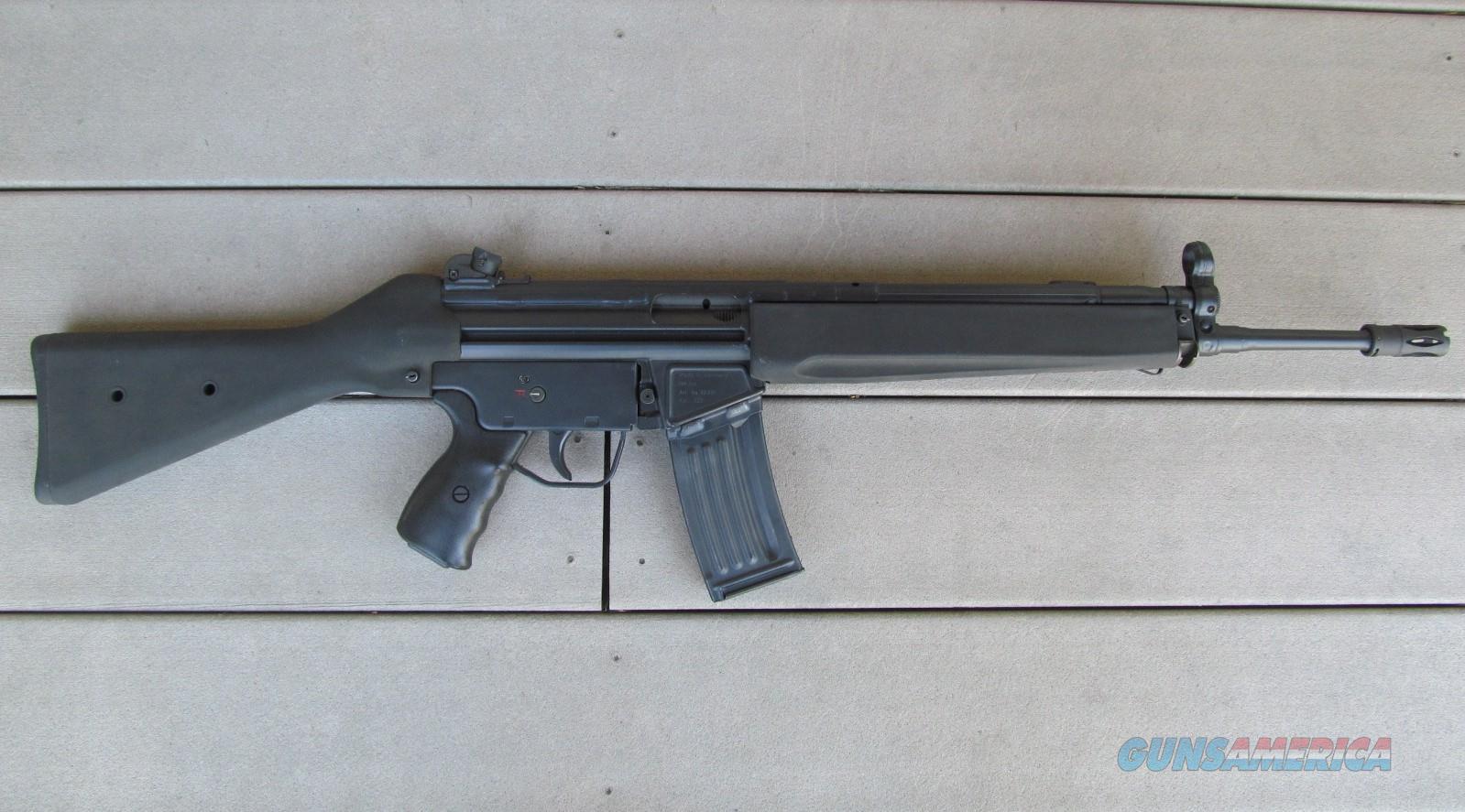 Genuine German HK93 Pre-ban  223 Assault Rifle (Heckler & Koch, H&K, 91,  mp5, 94, SP89, 93,