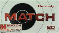 Hornady Match 6.5 Creedmoor 6.5 Creed 140 Gr ELD 200 Rounds Free Ship No Extra Fees 81500