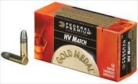 Federal Gold Medal 22 LR 22LR 40 Grain Solid 5000 Rounds Free Ship No Extra Fees 719