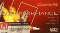 Hornady Superformance 6.5 Creedmoor 120 Gr GMX 200 Rounds Free Ship No Extra Fees 81490