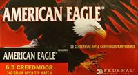 Federal American Eagle 6.5 Creedmoor AE65CRD1 200 Rounds Free Ship No Extra Fees AE65CRD1