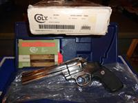"Colt Anaconda 6"" 45 LC Complete Label, Box/ Papers"