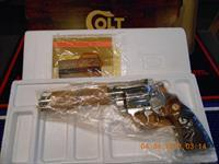 "NOS Colt Nickel Diamondback 6"" 22 LR"