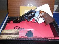 "As New Colt Diamondback 4"" Blue Complete"