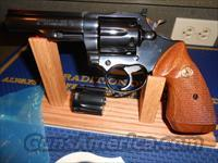 "Colt Trooper 4"" Blue 22 Mag.& 22Lr"
