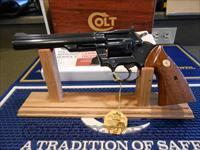 "Unfired Colt Trooper 6"" 22 Lr  Blued Box/Papers"
