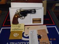 "4"" 22 LR. Colt Diamondback Blue As New Complete"
