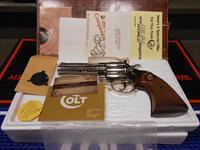 Colt Nickel Diamondback Unfired Complete.