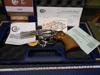"Unfired Nickel Colt Python 4"" Perfect"