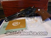 "Colt  Diamondback 6"" Blued Unfired  38 Cal."