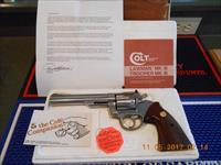 "6"" Colt Trooper Mk III 22 LR  E-Nickel"