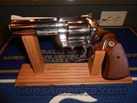 "Colt Nickel Diamondback 4""  Nice 38 Spcl."