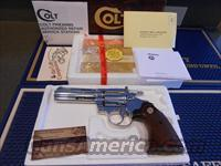 Colt Nickel Diamondback 22 Lr. 4""