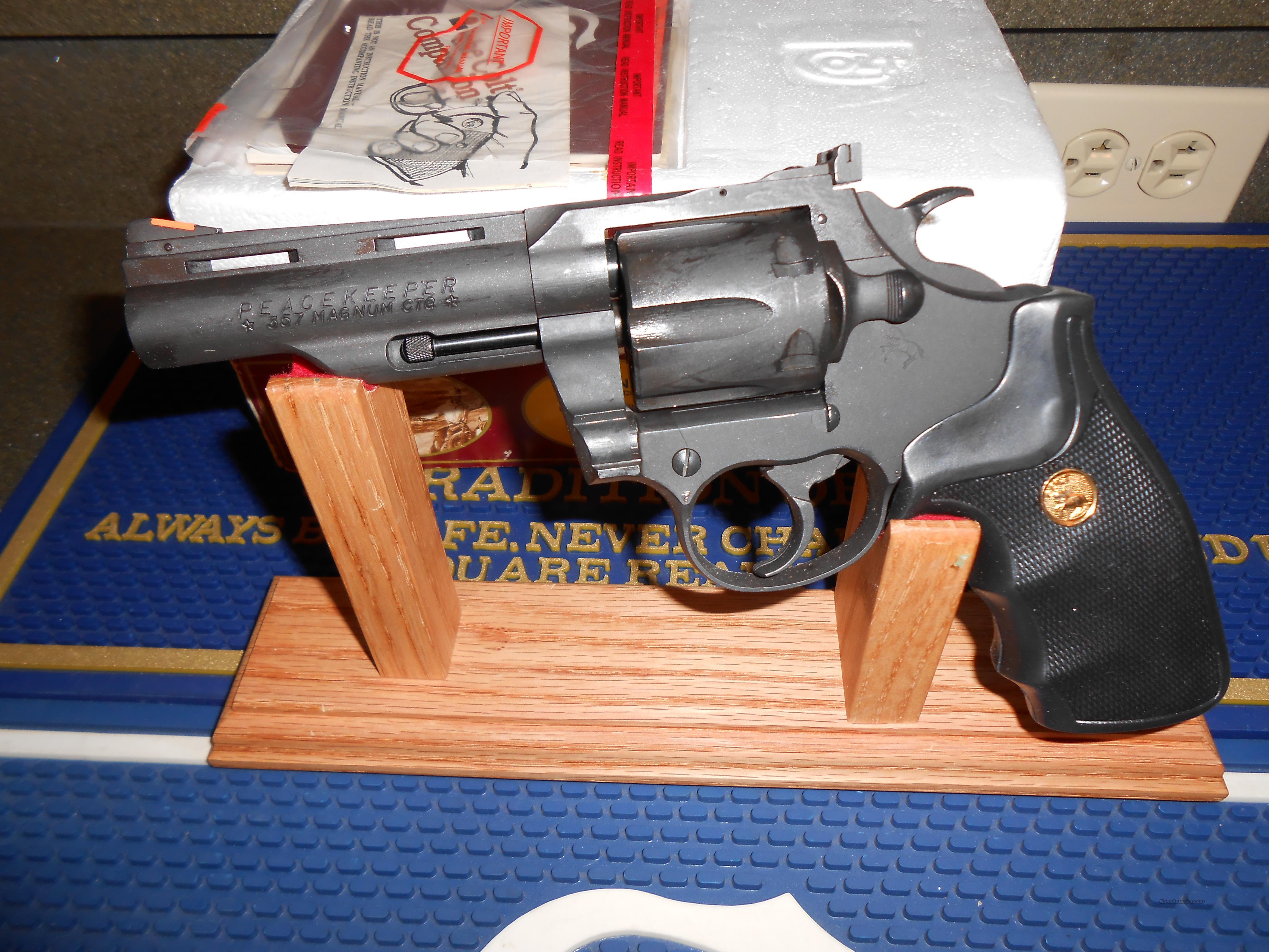 Unfired Colt Peacekeeper 4