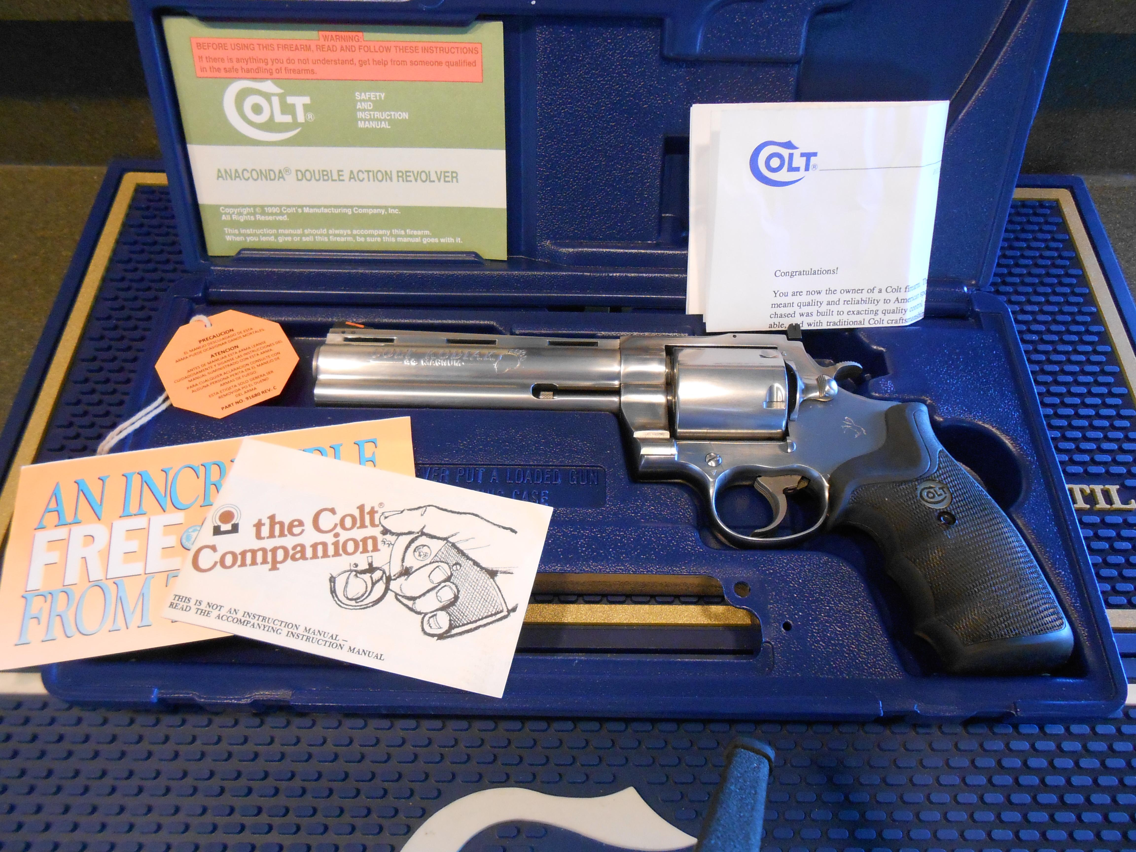 Colt Kodiak Custom Shop 44 Magnum