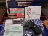 Colt Bright Stainless King Cobra Enhanced Complete