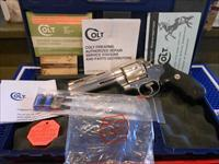 "Colt Anaconda 5"" W/ Case Scarce"