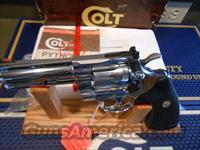 "Unfired 4""Colt Python Bright Stainless Steel"