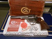 "Colt Trooper 6"" 22 Lr  E Nickel Box/Papers"