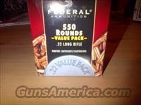 4,400 rounds of 22 LR hollow points, Federal