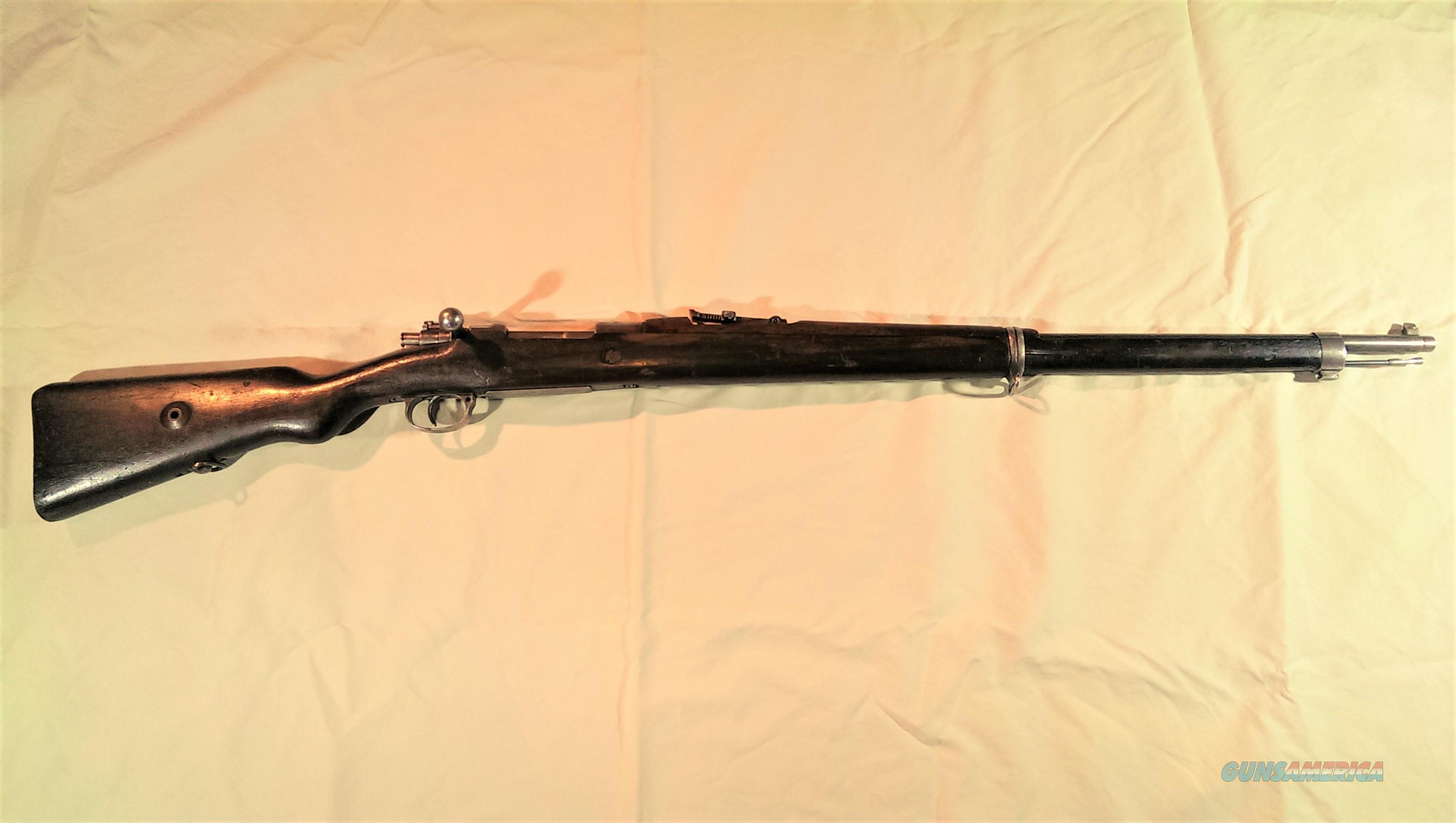 Turkish Mauser 8mm