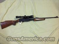 Remington 7600 Premier 270 pump rifle