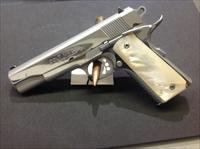 Colt MK IV Series 80 45 acp polished stainless
