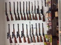 Lever Action Rifles, Marlin, Winchester, Browning