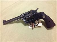 Colt Offical Police pre war 38 special mfg 1929