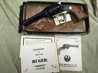 Ruger Bearcat 22LR single action as new